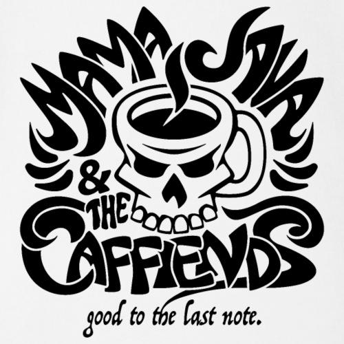 Mama Java & The Caffeinds Rock Band - Organic Short Sleeve Baby Bodysuit