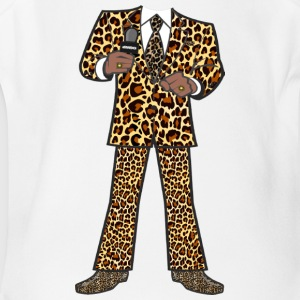 The Leopard Suit - Short Sleeve Baby Bodysuit
