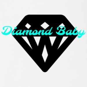 Diamond Baby - Short Sleeve Baby Bodysuit
