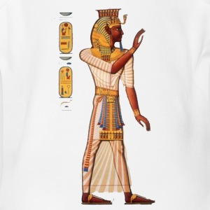 Young pharaoh - Short Sleeve Baby Bodysuit