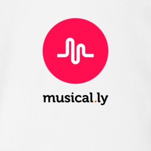 Music.ly - Short Sleeve Baby Bodysuit