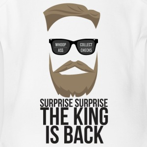 The King is back! - Short Sleeve Baby Bodysuit