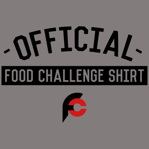 Official Food Challenge Shirt 2 - Organic Short Sleeve Baby Bodysuit