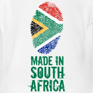 Made In South Africa - Short Sleeve Baby Bodysuit