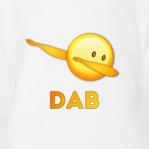 dab on em dabbing emoti football touchdown mooving - Short Sleeve Baby Bodysuit