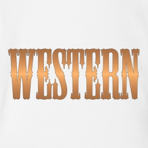 western copper - Short Sleeve Baby Bodysuit