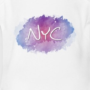 NYC - New York City - Short Sleeve Baby Bodysuit