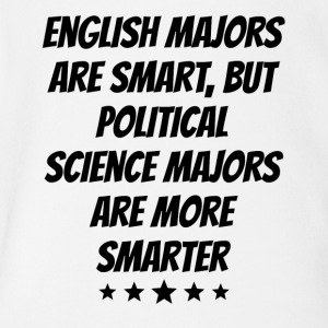 Political Science Majors Are More Smarter - Short Sleeve Baby Bodysuit