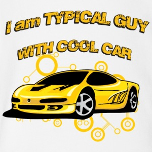 I_am_Typical_guy_with_cool_car - Short Sleeve Baby Bodysuit