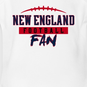 New England Football Fan - Short Sleeve Baby Bodysuit