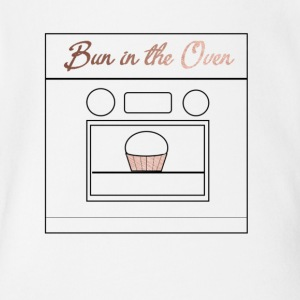 Bun in the Oven - Short Sleeve Baby Bodysuit
