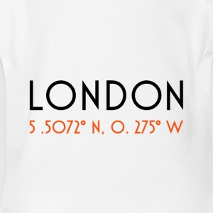 London CoordinateLondon Coordinate - Short Sleeve Baby Bodysuit