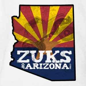 Zuks of Arizona Official Logo - Short Sleeve Baby Bodysuit