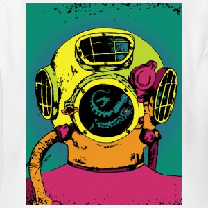 Deep Sea Diver - Short Sleeve Baby Bodysuit