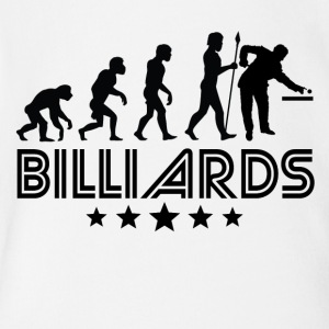 Retro Billiards Evolution - Short Sleeve Baby Bodysuit