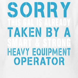 Heavy Equipment Operator T Shirt - Short Sleeve Baby Bodysuit