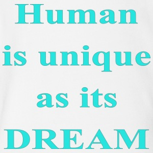 HUMAN QUOTE - Short Sleeve Baby Bodysuit