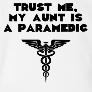 My Aunt Is A Paramedic - Short Sleeve Baby Bodysuit