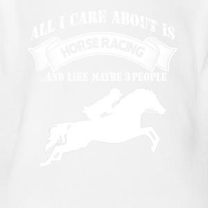 Horse Racing - Short Sleeve Baby Bodysuit