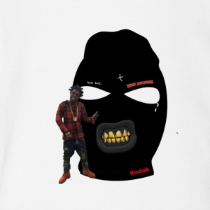Kodak Black's Famous Mask Clothing - Short Sleeve Baby Bodysuit