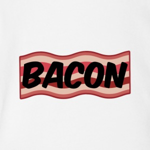 Bacon - Short Sleeve Baby Bodysuit