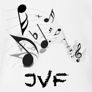 The JVF Music Edition - Short Sleeve Baby Bodysuit