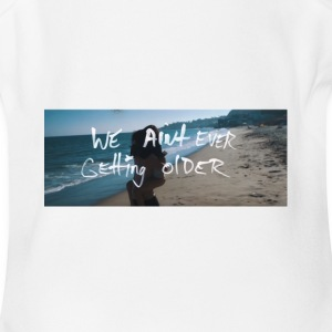 The Chainsmokers Closer Lyrics 5 - Short Sleeve Baby Bodysuit