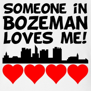 Someone In Bozeman Montana Loves Me - Short Sleeve Baby Bodysuit