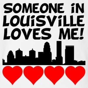 Someone In Louisville Kentucky Loves Me - Short Sleeve Baby Bodysuit