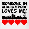 Someone In Albuquerque New Mexico Loves Me - Short Sleeve Baby Bodysuit