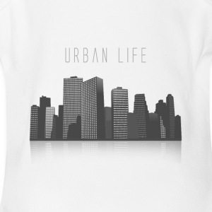 Urban Life - Short Sleeve Baby Bodysuit