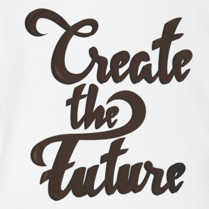 Create the future - Short Sleeve Baby Bodysuit