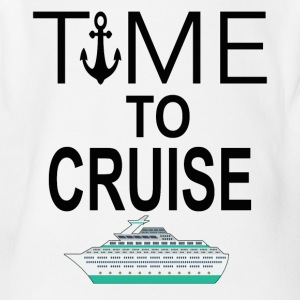 Time To Cruise Cool Cruising Tee Shirt - Short Sleeve Baby Bodysuit