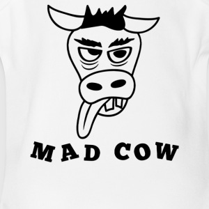 Mad Cow - Short Sleeve Baby Bodysuit