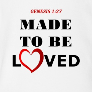 Genesis 1 27 Collection - Short Sleeve Baby Bodysuit