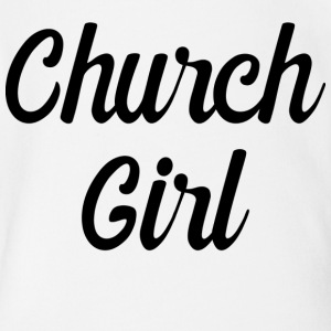 church girl - Short Sleeve Baby Bodysuit