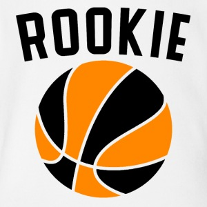 Basketball Rookie - Short Sleeve Baby Bodysuit