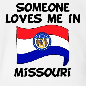 Someone In Missouri Loves Me - Short Sleeve Baby Bodysuit