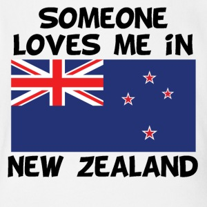 Someone In New Zealand Loves Me - Short Sleeve Baby Bodysuit