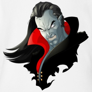Count Dracula Vampire Monster - Short Sleeve Baby Bodysuit
