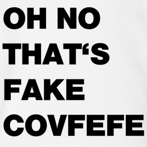 fake covfefe - Short Sleeve Baby Bodysuit