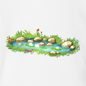 Pond baby clothing spreadshirt for Baby garden pool