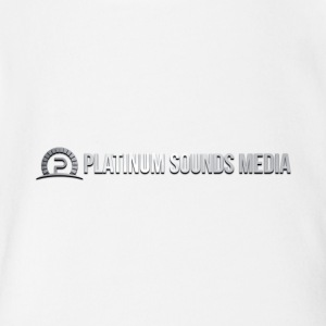 Original Logo of Platinum Sounds Media - Short Sleeve Baby Bodysuit