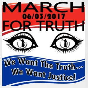 March For Truth 6-3-2017 We Want The Truth Protest - Short Sleeve Baby Bodysuit