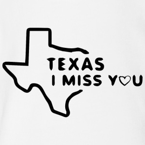 Texas i miss you - Short Sleeve Baby Bodysuit