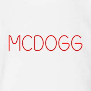 MCDOGG long tee - Short Sleeve Baby Bodysuit