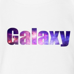 Galaxy Baae - Short Sleeve Baby Bodysuit