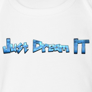 Just Dream It - Short Sleeve Baby Bodysuit