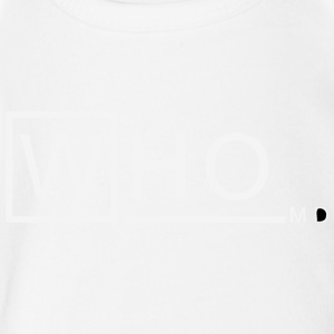 Who M D vectorized - Short Sleeve Baby Bodysuit
