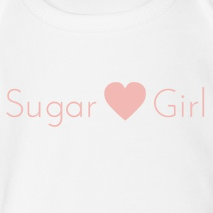 Sugar Girl - Short Sleeve Baby Bodysuit